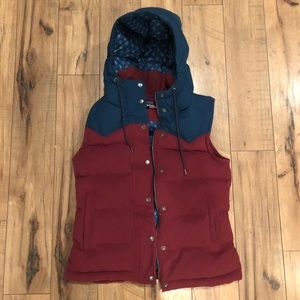 Patagonia bivy vest with hood
